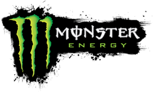 Logo patrocinador Monster Energy