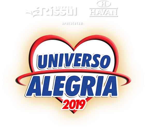 Logo do Universo alegria